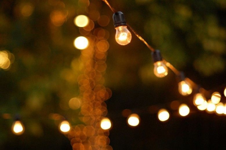 Vintage style Festoon Lights - Budget Marquee Hire