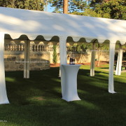 Marquee 4x8 open sides