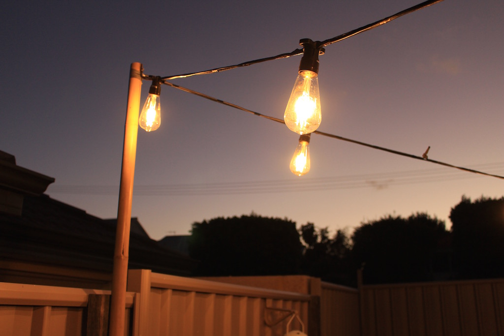 Country Style Festoon Lights - Budget Marquee Hire