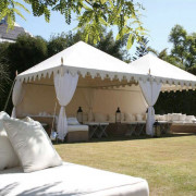 Indian White Wedding Marquee - 3mx3m