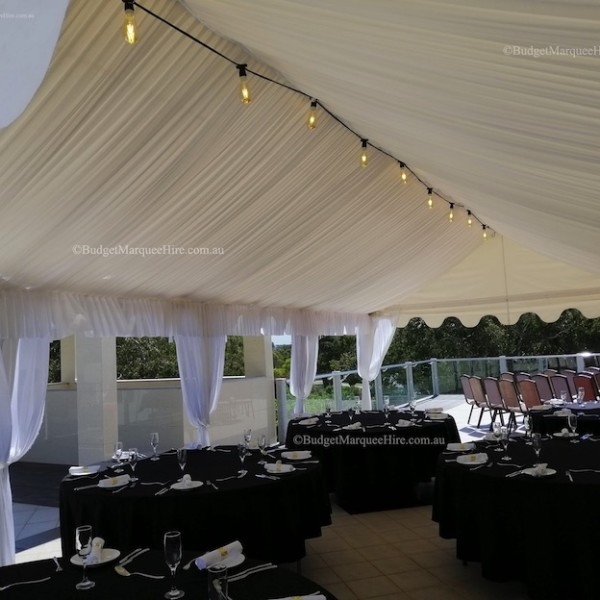 Lining Marquee 4×8 White