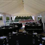 Wedding lining and pole drapes