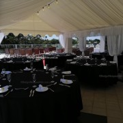 Marquee 4x8 lining and drapes