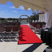 Lining in marquee