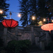 VICTORIAN STYLE UMBRELLA PARTY LIGHTS