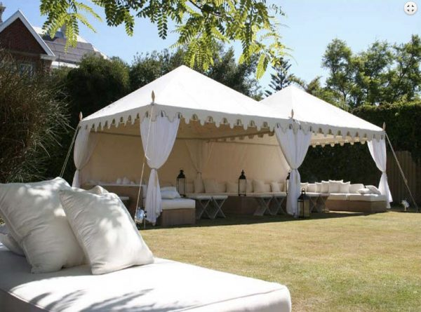 Indian White Wedding Marquee – 3mx3m