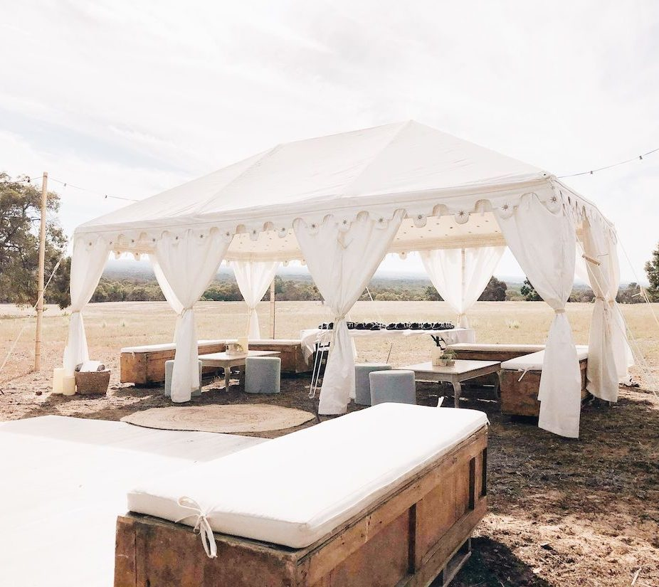 Luxury-marquee-6x4-meter-budget-marquee-hire-perth